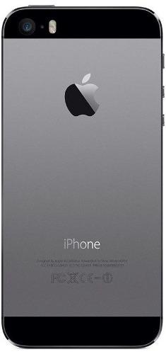Carcaca Aro Tampa Traseira Com Flex Volume Botao Power Carga Apple Iphone 5s Preto