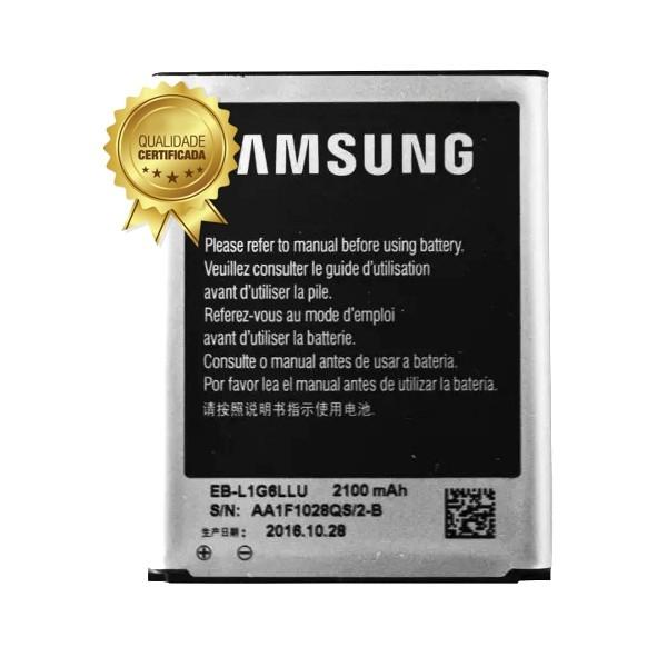 Bateria Samsung Galaxy Gt-I9300 S3 EB-L1G6LLU 2100 Mah 1 Linha
