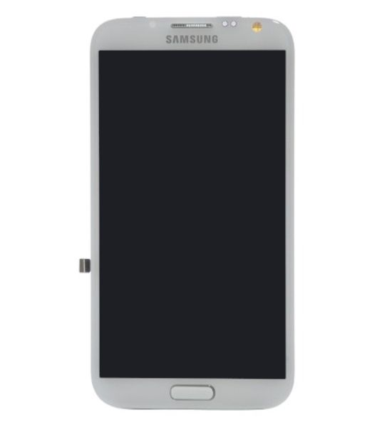 Frontal Samsung Note 2 Gt-n7100 Branco