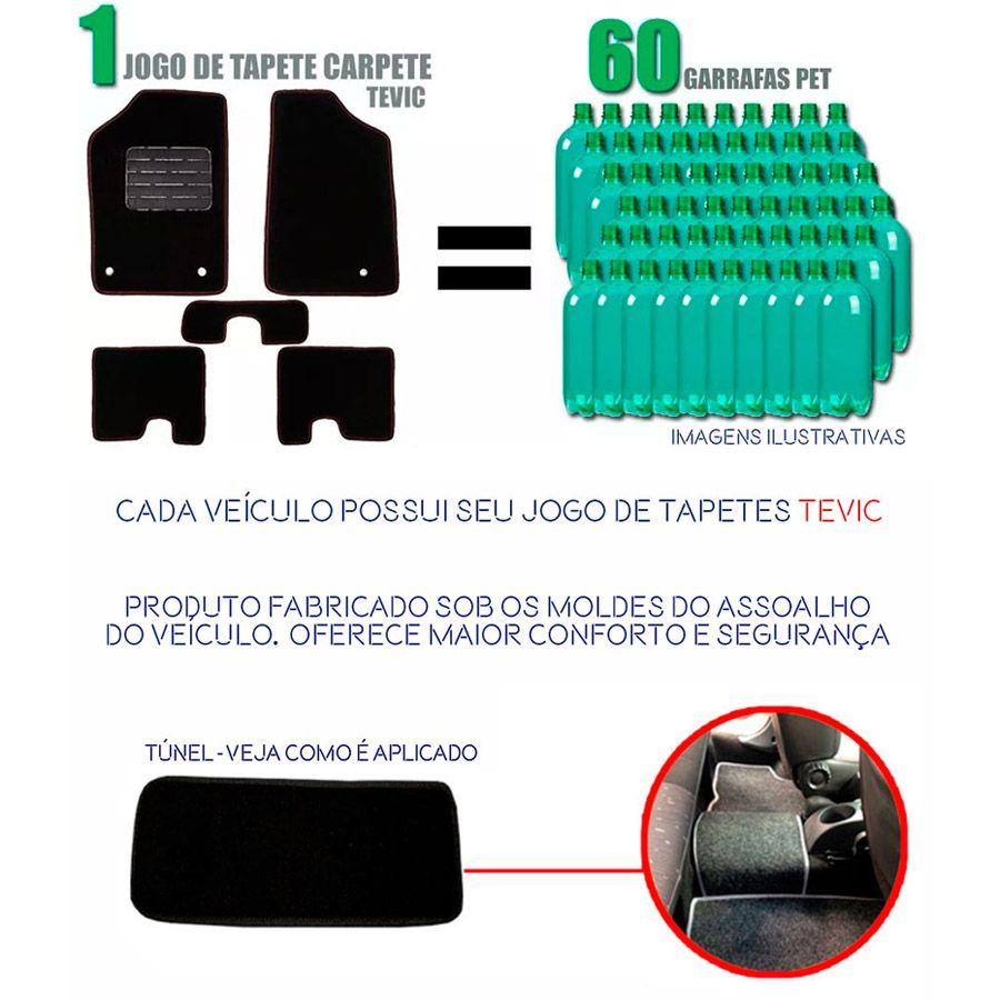 TAPETE CARPETE CONFORT TEVIC AUDI A3 SPORTBACK