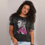 Blusa Feminina Justin Bieber Profile