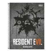 Caderno Resident Evil VII 1 Matéria