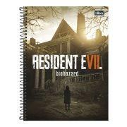 Caderno Resident Evil VII Mansion 1 Matéria