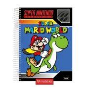 Caderno Mario World 10 Matérias