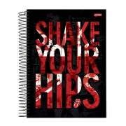 Caderno The Rolling Stones Shake Your Hips 1 Matéria