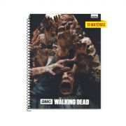 Caderno The Walking Dead Hungry Zombies 10 Matérias