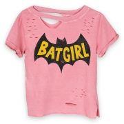 Camiseta Feminina Choker Batgirl