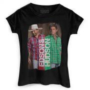 Camiseta Feminina Edson & Hudson Foto