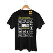 Camiseta Masculina 89 FM Ícones