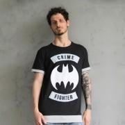 Camiseta Masculina Batman Crime Fighter