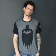 Camiseta Masculina Batman Stencil