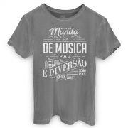 T-shirt Premium Masculina João Rock Type