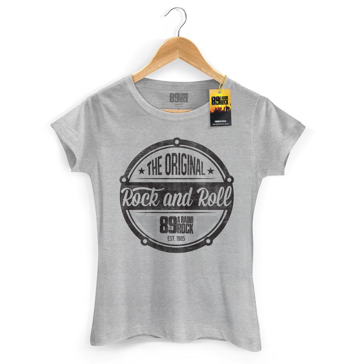 Camiseta Feminina 89FM A Rádio Rock - The Original Rock And Roll
