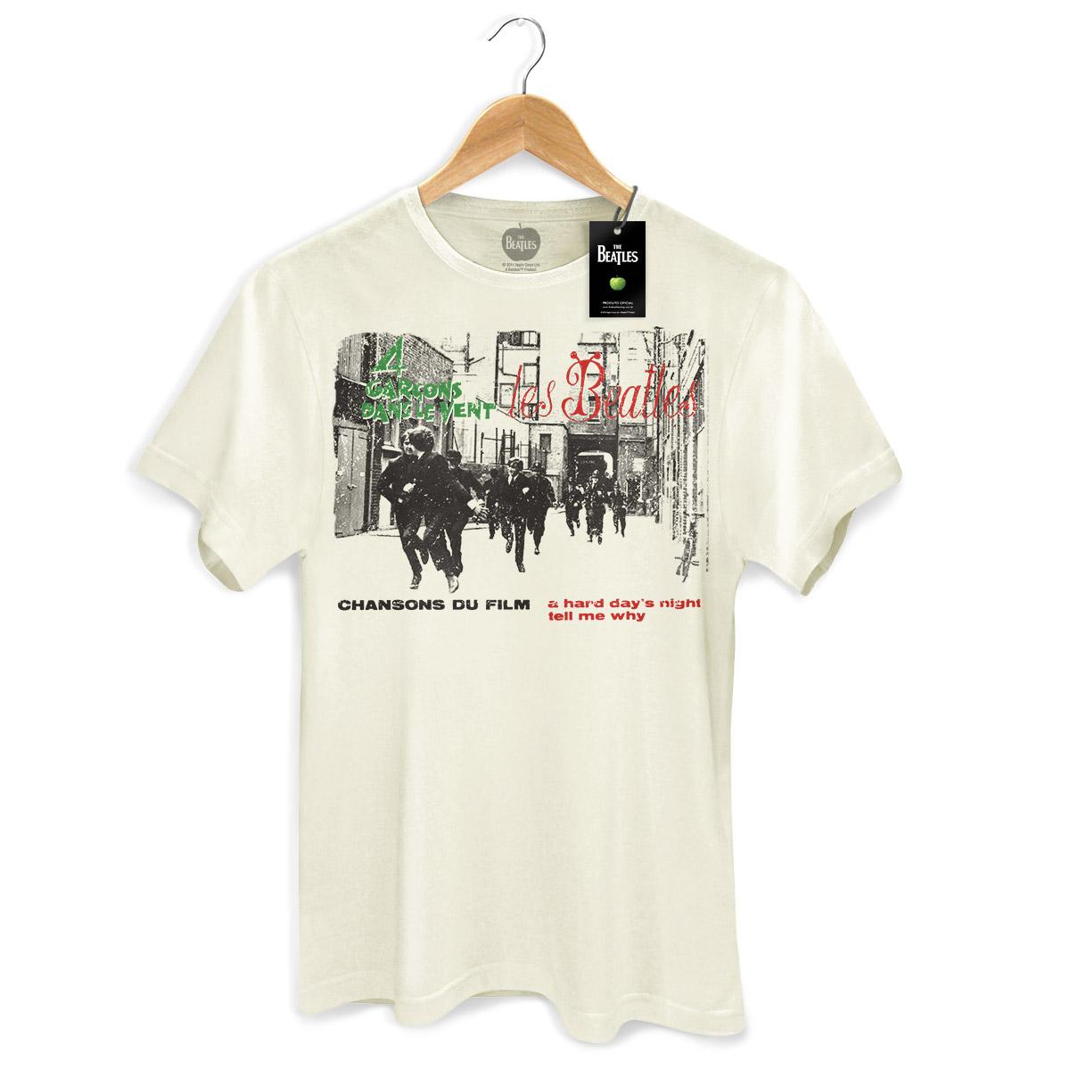Camiseta Unissex The Beatles 4 Garcons Dans Le Vent