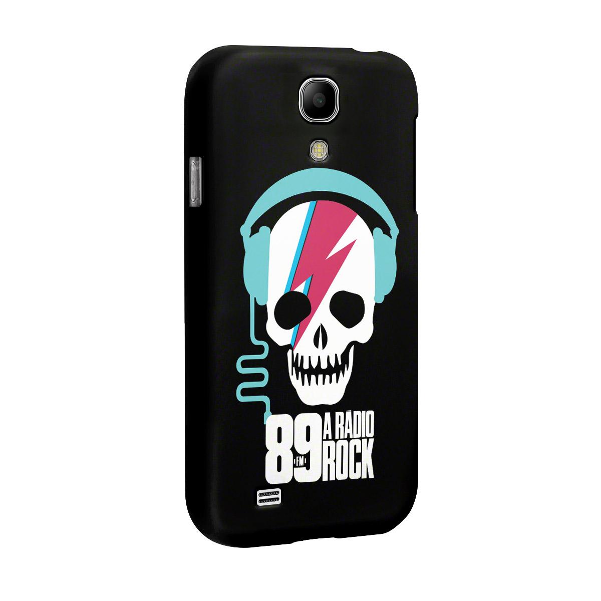 Capa de Celular Samsung Galaxy S4 89 FM Thunder Skull