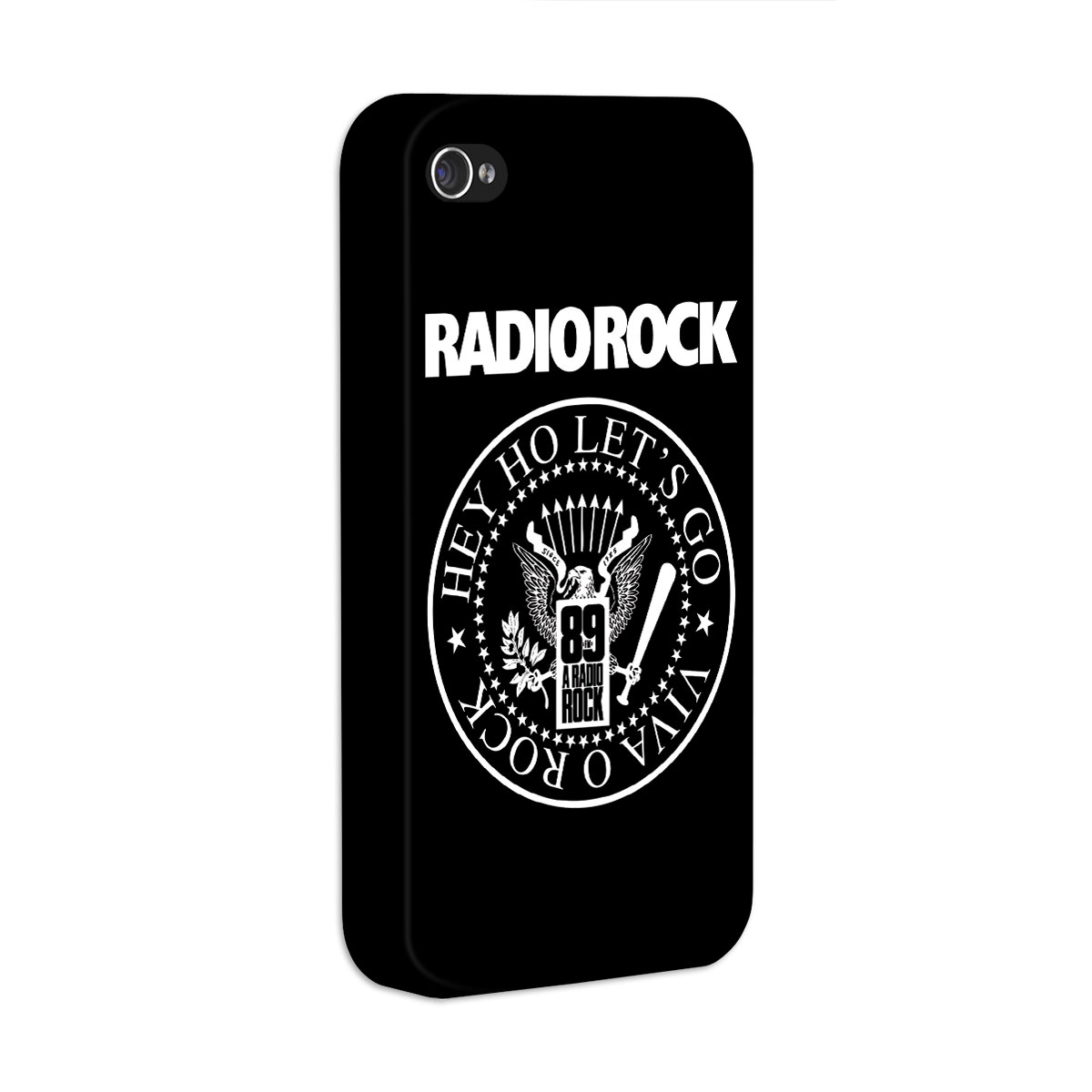 Capa de iPhone 4/4S 89 FM - Hey Ho Viva o Rock