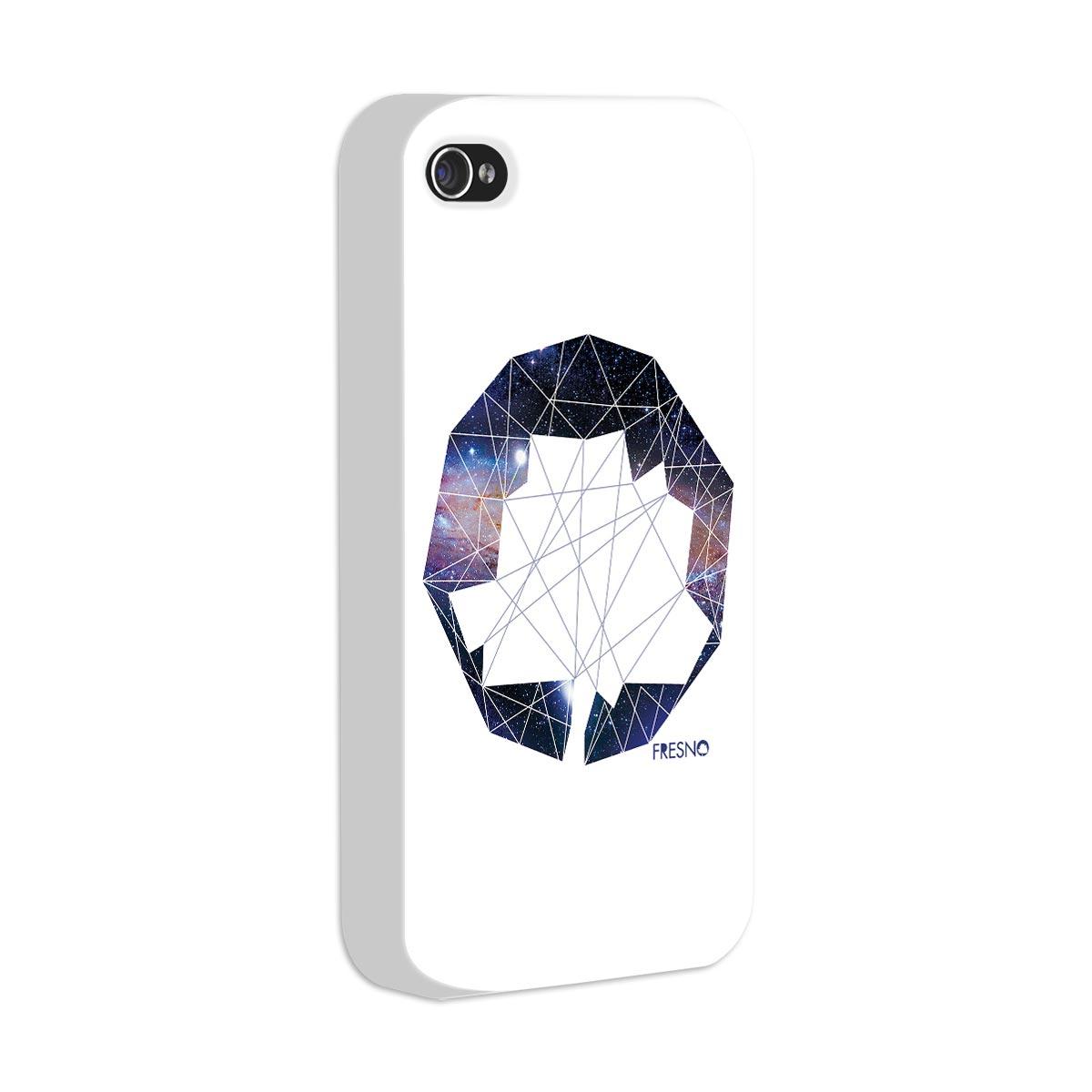 Capa de iPhone 4/4S Fresno Logo Galaxias