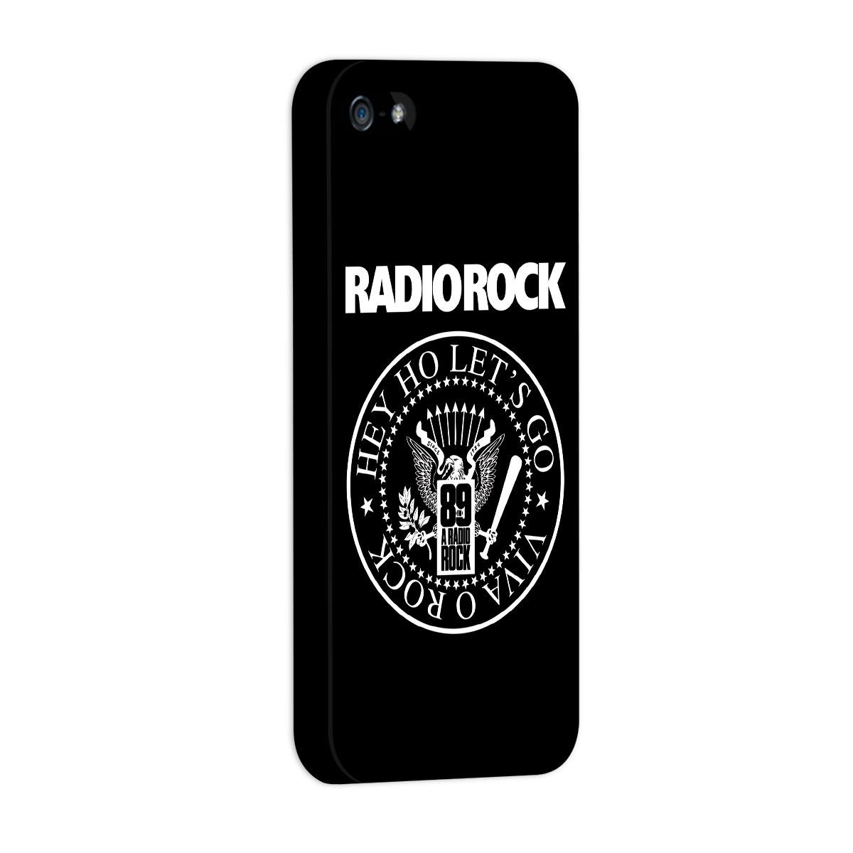 Capa de iPhone 5/5S 89 FM Hey Ho Viva o Rock