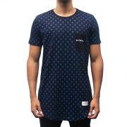 Camiseta Pattern Jesuscopy Masculina - #REINODEPONTACABEÇA