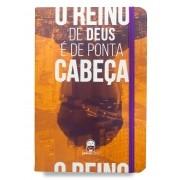 Caderno Moleskine Reino de Ponta Cabeça