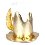 Cartola Caneca de Chopp Luxo - Dourada