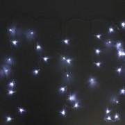 Pisca Pisca Cascata com 100 LEDs Branco 127V - 2,75m