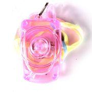 Colar Pisca Celular Transparente - Unidade