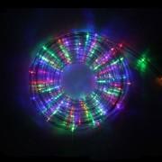 Mangueira Pisca de LED Luz Colorida 110V - 10 Metros