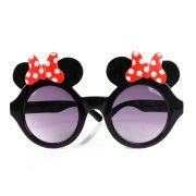 Óculos Minnie Luxo Com Lente