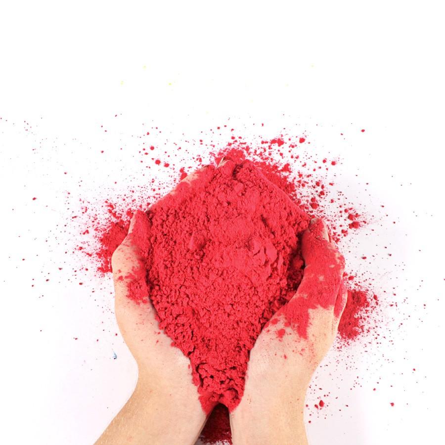 Pó Colorido Para Festas Holi - Vermelho