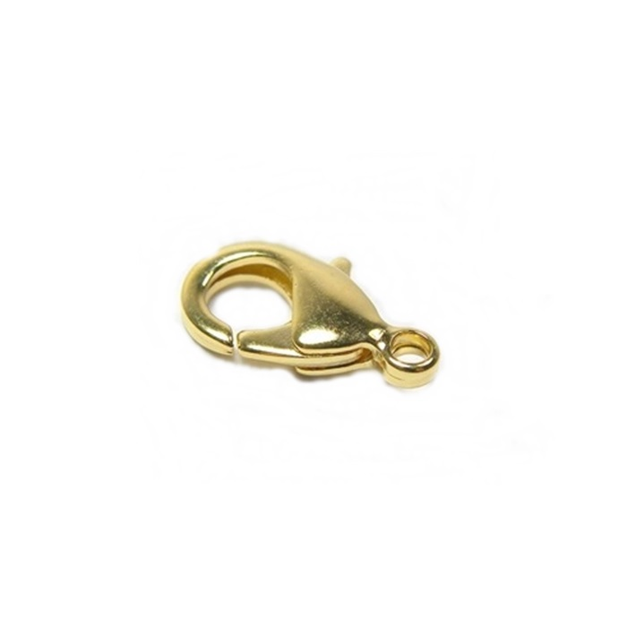 Fecho Lagosta Dourado Nº 04 (10 unid.)- FLD004