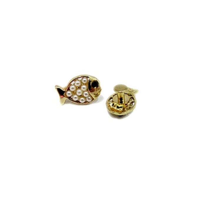 Piercing Peixinho dourado (Par)- PID051