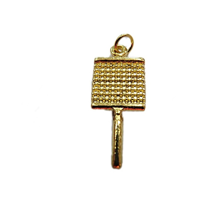 Pingente ferramenta dourada- PFD026