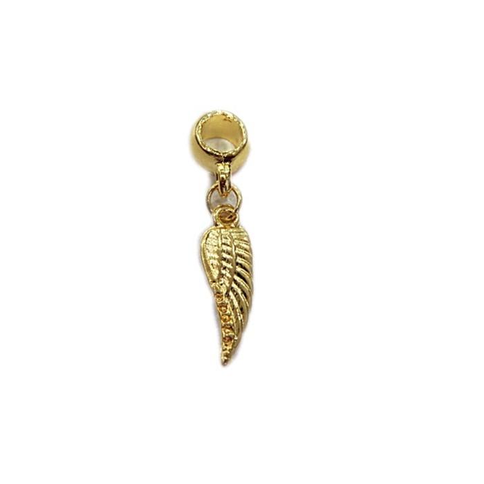 Berloque Dourado Asa P BED049