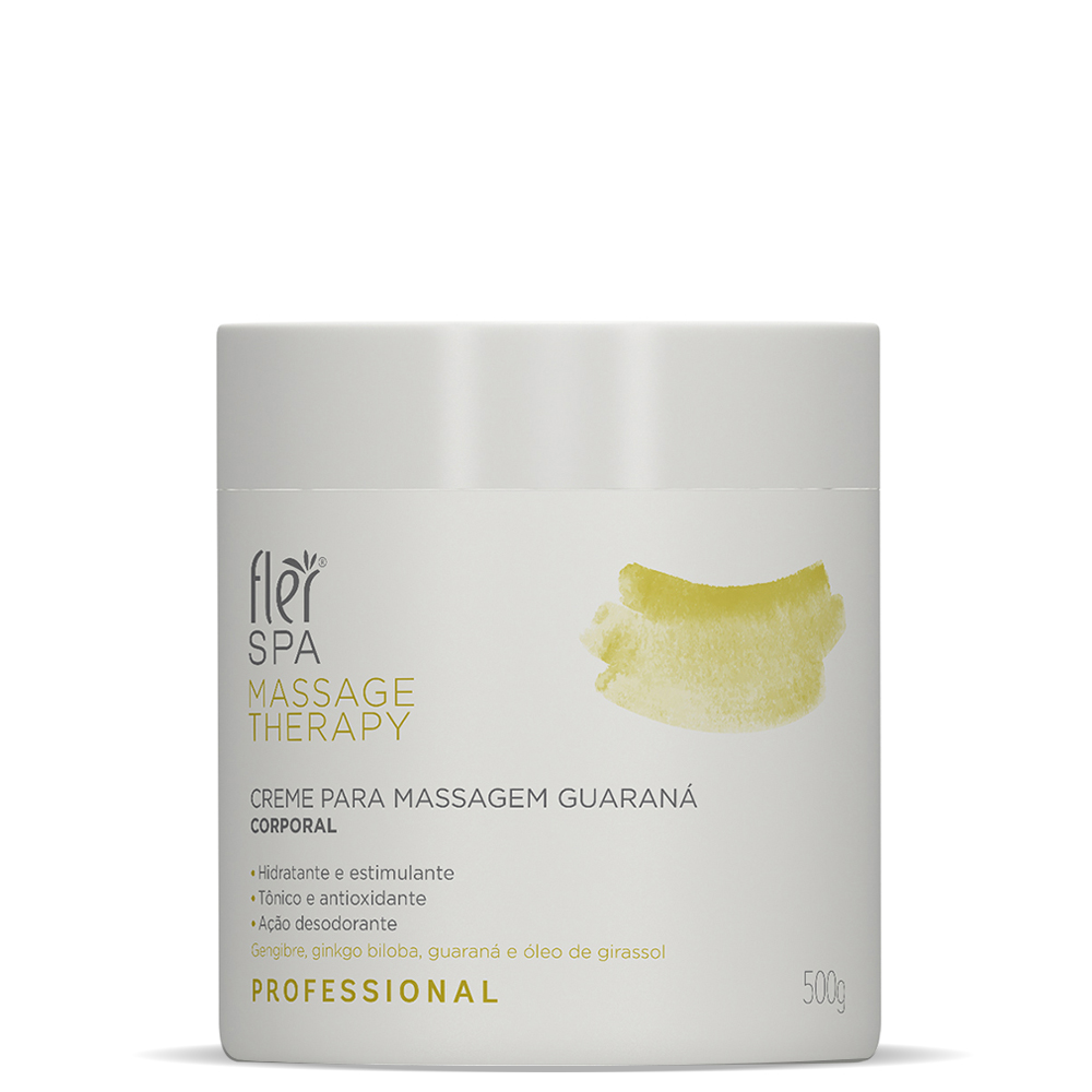 Creme de Massagem Guaraná | 500g
