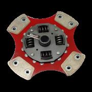 Disco de Cerâmica 4 ou 6 pastilhas com ou sem molas Fiesta 1.3 Importado 190mm 17 estrias Ceramic Power