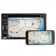 Central Multimídia Multilaser Evolve Light 6,2 Polegadas Touch USB SD AUX MP3 Bluetooth Espelhamento Celular - P3321 (SA03)
