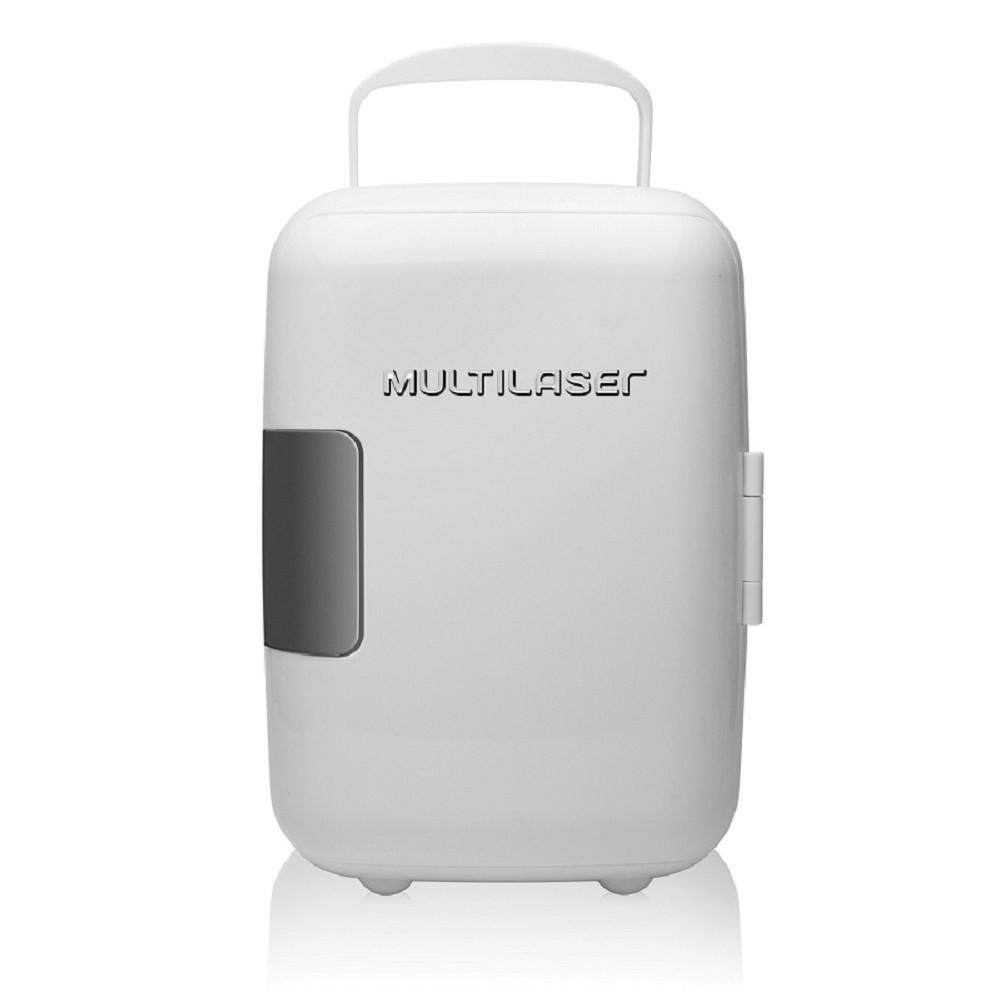 Mini Geladeira Portátil Multilaser 4 Litros 12V 110v Refrigera e Aquece TV009