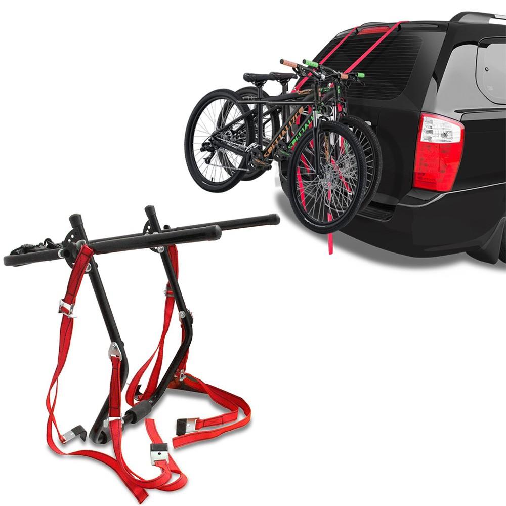 Suporte de Bicicleta Transbike Porta-Malas Preto Eqmax 2 Bikes