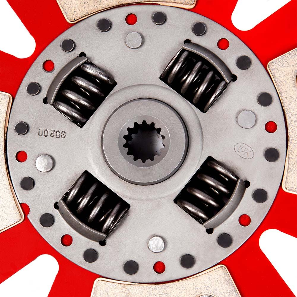 Disco de Cerâmica 4 ou 6 pastilhas com ou sem molas Corsa Celta 1.0 1.4 8v 190mm 14 estrias Ceramic Power