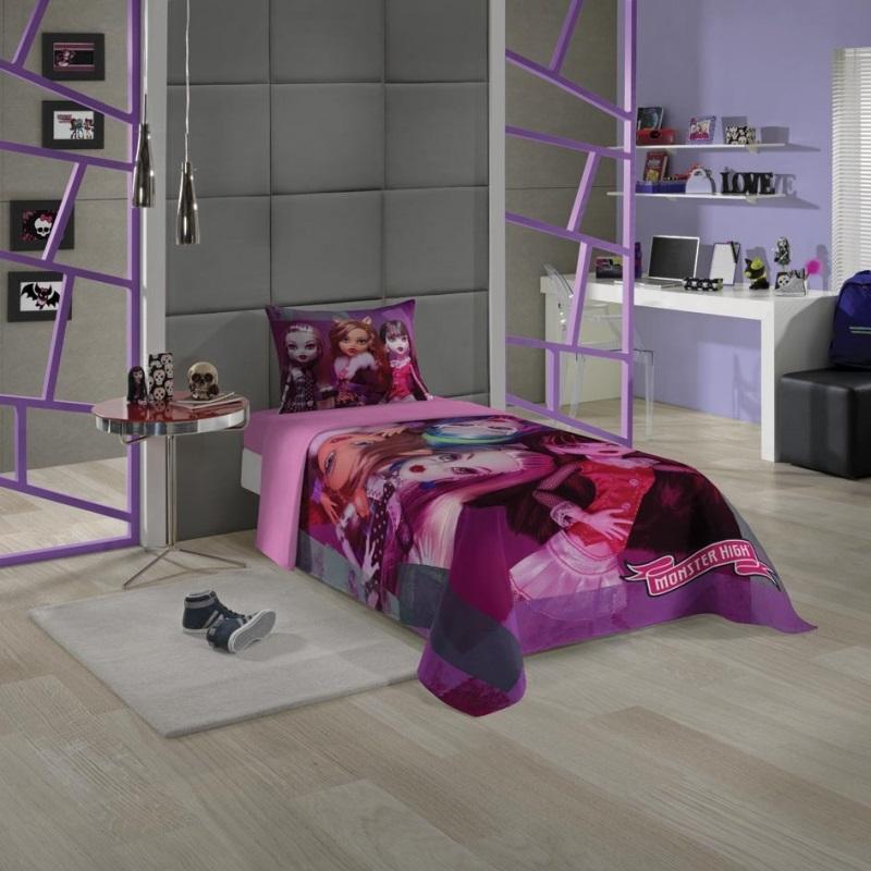 Jogo de cama 3 Peças Monster High 4992901| Lepper
