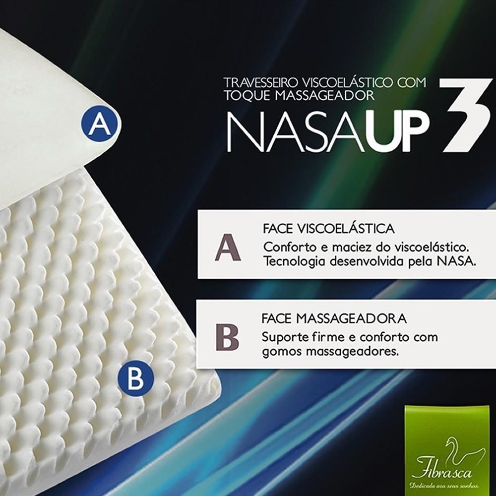 Travesseiro Nasaup Com Toque Massageador
