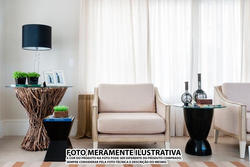 BANQUETA NITRO ASSENTO CRISTAL BASE COLOR PRETA