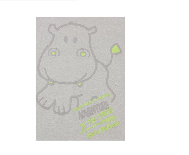 Body Manga Longa Marrom Hipopótamo Com Listras Bicho Molhado