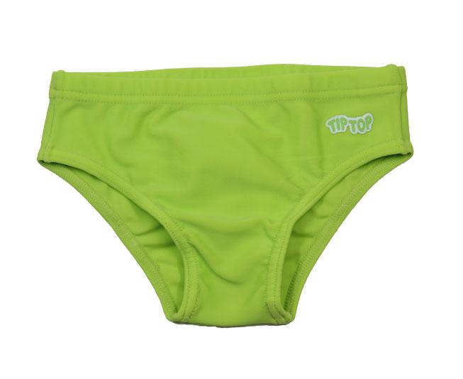 Sunga Tip Top Verde Limão Lisa