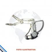 Maquina Vidro Pt Dianteira Direita Elet C/mot Corsa/montana 02-12