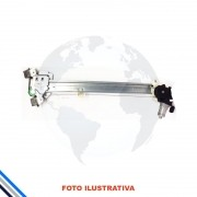 Maquina Vidro Dianteira Esquerda Honda Fit 2014-2016