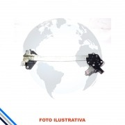 Maquina Vidro Pt Tras Dir C/Motor Civic -2001-2012 Original