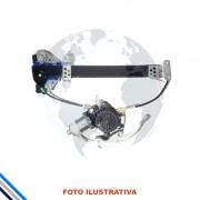 Maquina Vidro Pt Tras Dir  C/Motor Fit 2003-2008 Original