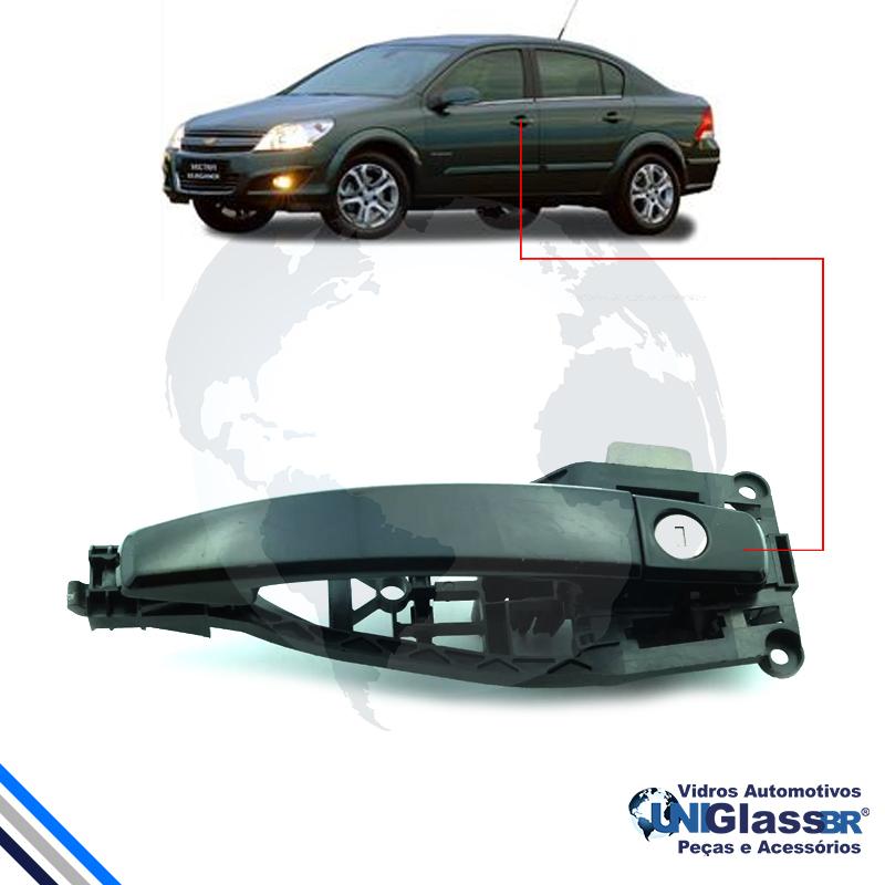 Macaneta Ext Pt Diant/Tras Vectra Sedan/Hatch 2005-2011